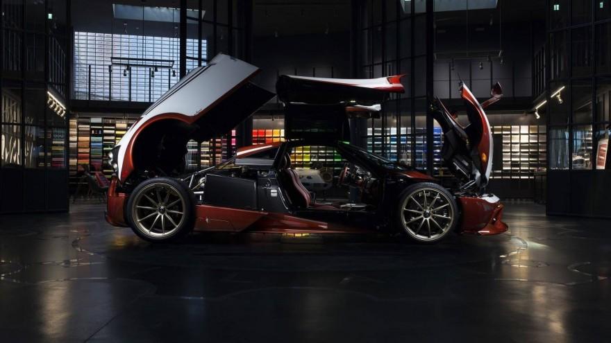 Эксклюзивный Pagani Huayra вдохновленный газотурбинным Fiat (12 фото)