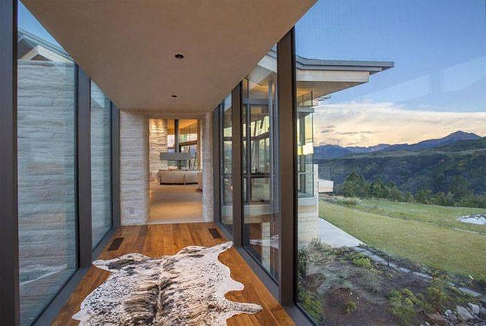 Идеальный дом в тихом и спокойном месте (38 фото)
