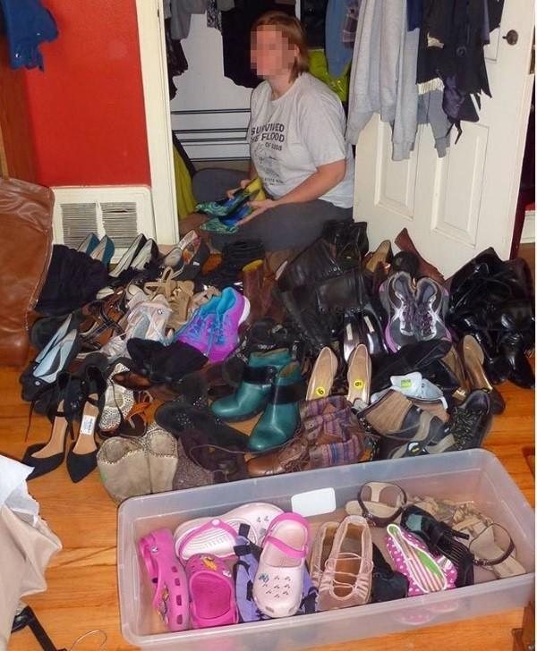 Мужская и женская обувь (2 фото)