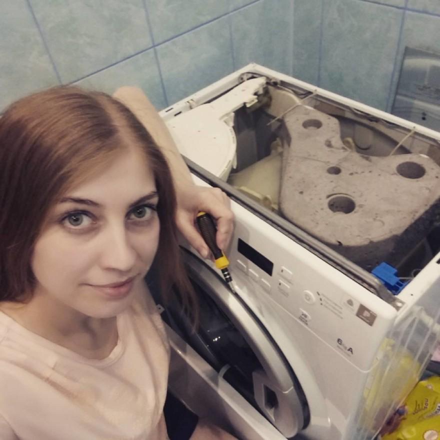 Что делают девушки, когда их не видят мужчины (20 фото)