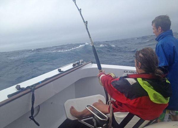 Самый большой тунец (6 фото)