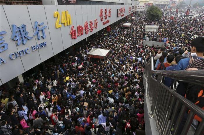 Доказательства перенаселенного Китая (14 фото)