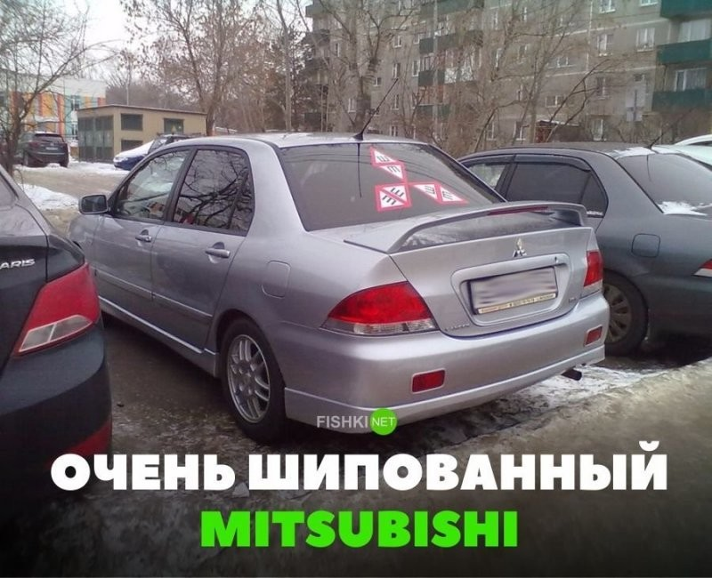Подборка автомобильных приколов (25 фото)