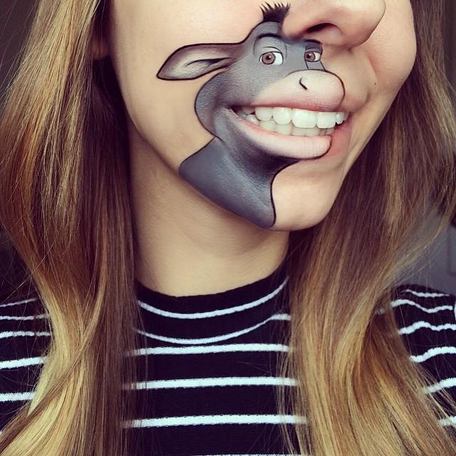 Самый лучший боди-арт губ (15 фото)