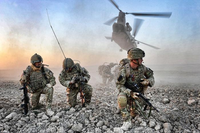 Британский конкурс военной фотографии (21 фото)