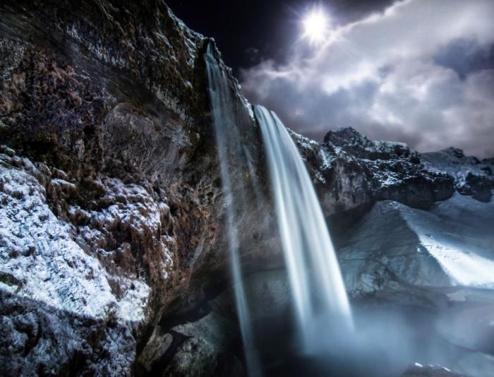 Гипнотизирующие водопады (11 фото)