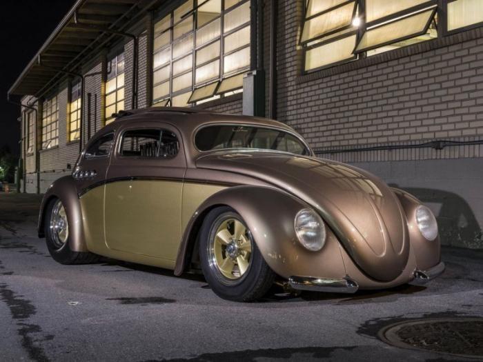 «Берлинский Бьюик» - хот-род из Volkswagen Beetle (16 фото + 1 видео)