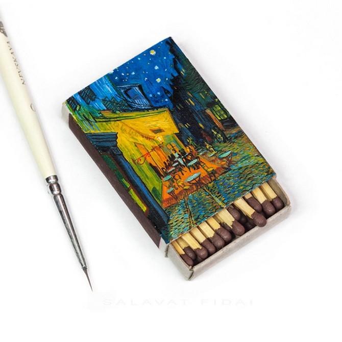 Миниатюрные картины Ван Гога (11 фото)
