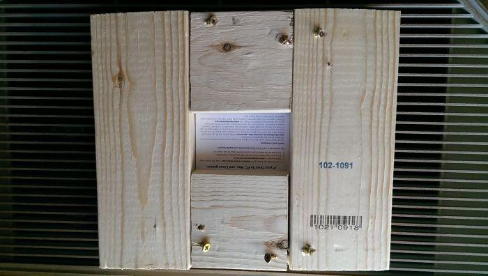 Оригинальная упаковка для рождественского подарка младшему брату (4 фото)