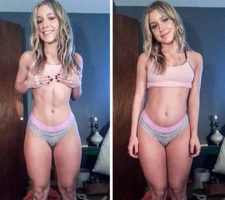 Фотографии, которые доказывают, что идеального женского тела не существует (19 фото)