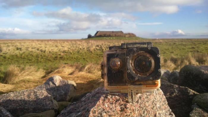Потерял камеру на йоркширском пляже и ее нашли на немецком острове (12 фото)
