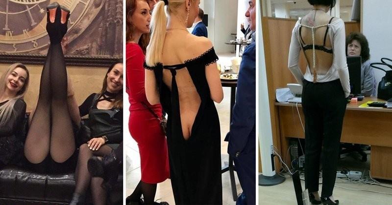 Сумасшедшие наряды российских модниц, от которых не оторвать глаз (19 фото)