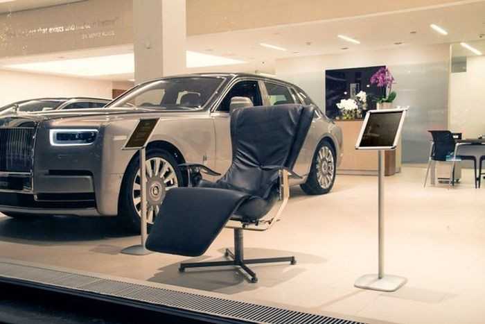 Rolls-Royce представил кресло Elysium-R стоимостью 52 000 долларов (5 фото)