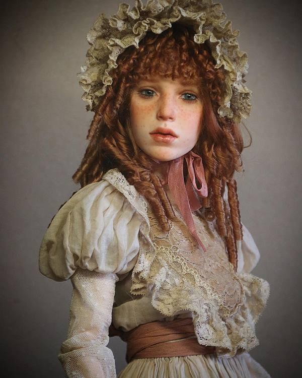 Куклы с потрясающе реалистичными лицами от Михаила Зайкова (17 фото)