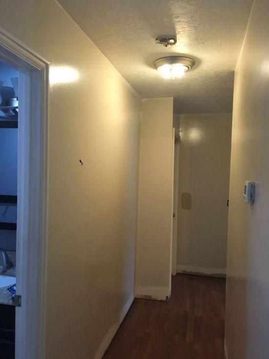 Шальная пуля и гипсокартонные стены (6 фото)