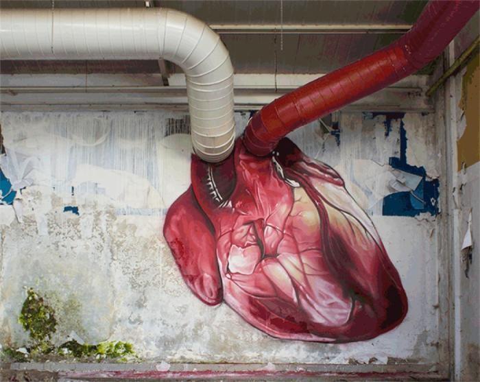 Работы стрит-арта, от которых сердце бьется чаще (20 фото)