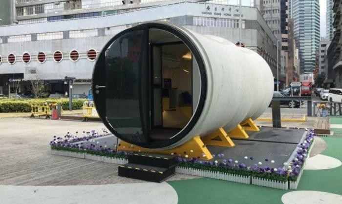 В Китае люди будут жить в водопроводных трубах (15 фото)