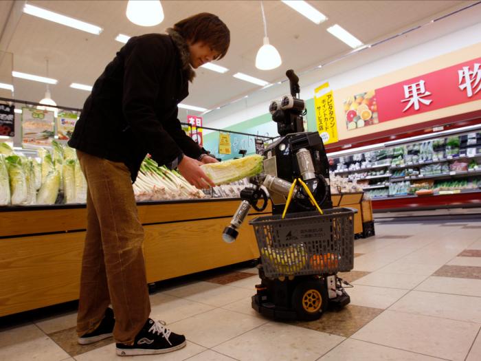 Почему в Японии много торговых автоматов (5 фото)
