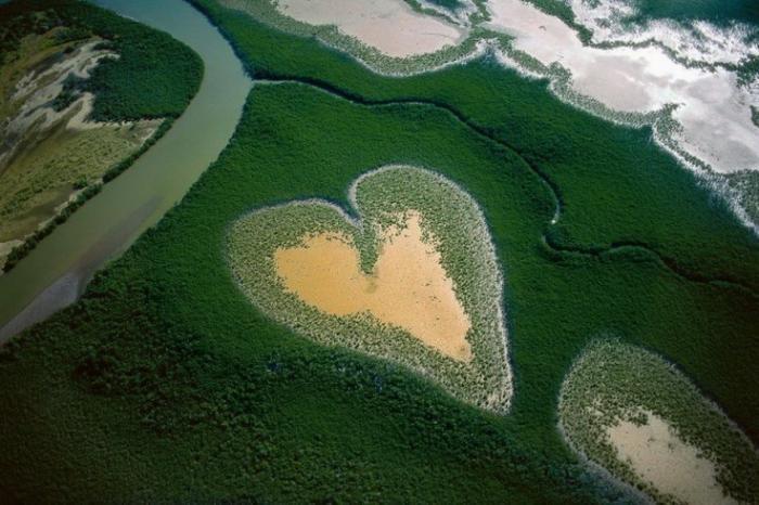 Природа, которая говорит о любви (9 фото)