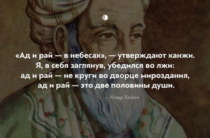 Чудесные цитаты Омара Хайяма (11 фото)
