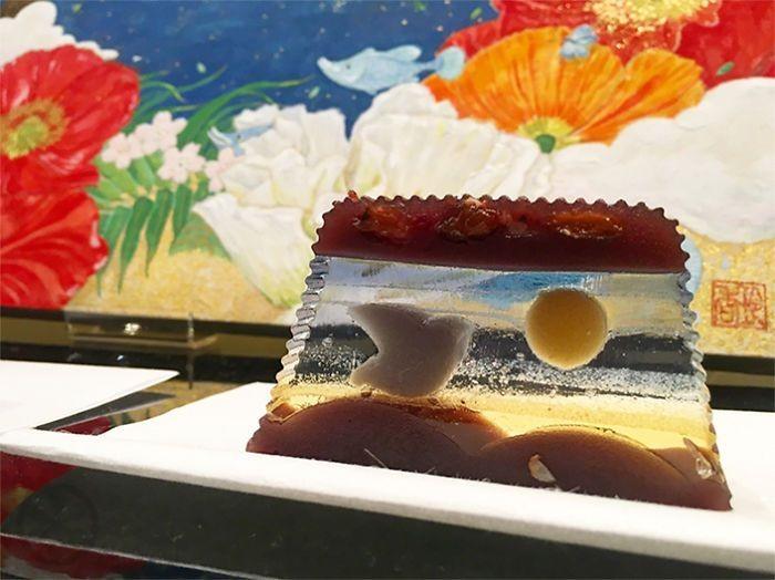 Десерт, напоминающий произведение искусства (6 фото)