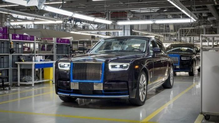 Первый экземпляр нового Rolls-Royce Phantom продадут на фестивале вина (14 фото)