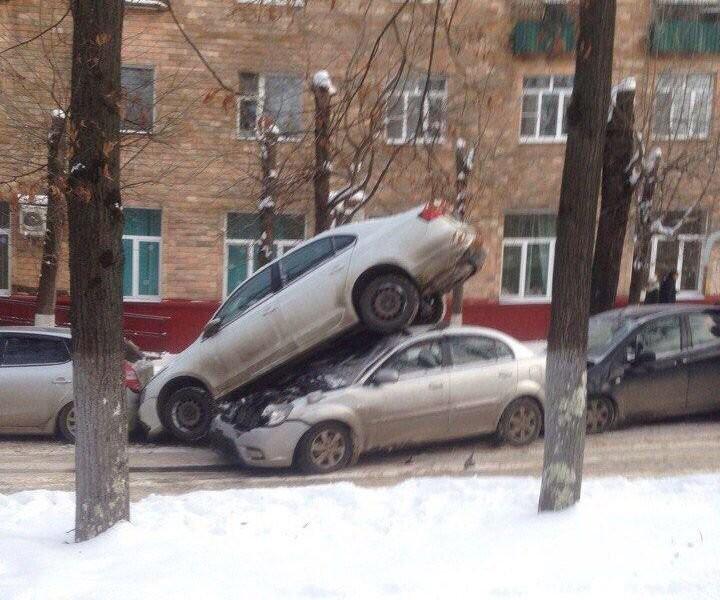 Подборка автомобильных приколов (21 фото)