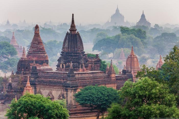 Баган — главная достопримечательность Мьянмы (16 фото)