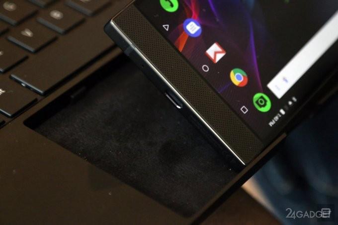 Док-станция в формате ноутбука для Razer Phone (14 фото + видео)