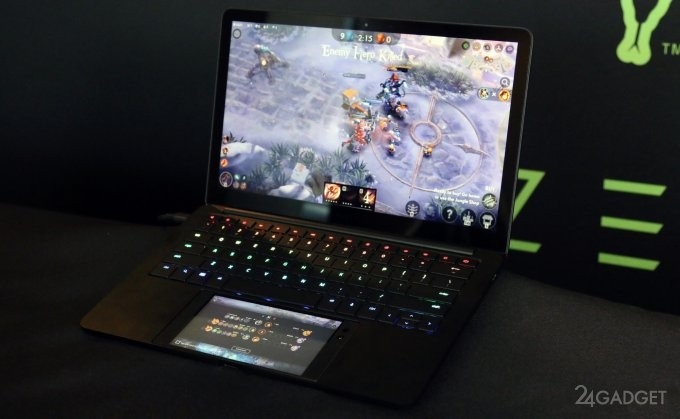 Док-станция в формате ноутбука для Razer Phone (14 фото + видео)