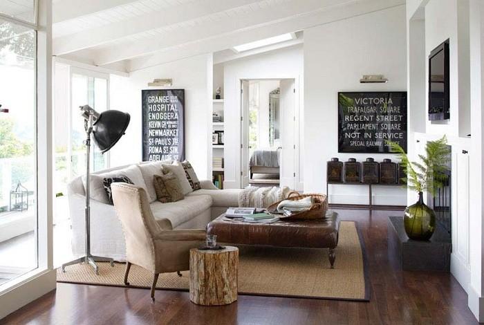 Отличные идеи для оформления гостиной (16 фото)