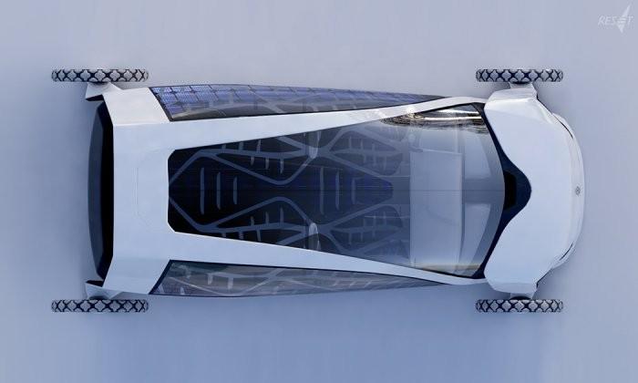 Концепт электромобиля-парусника (13 фото)