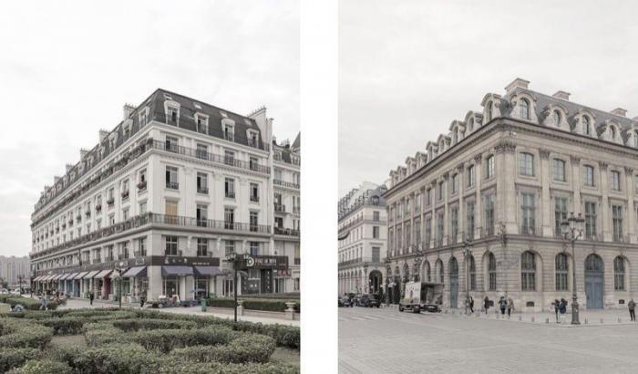 Поддельный Париж в Китае не отличишь от оригинала (6 фото)