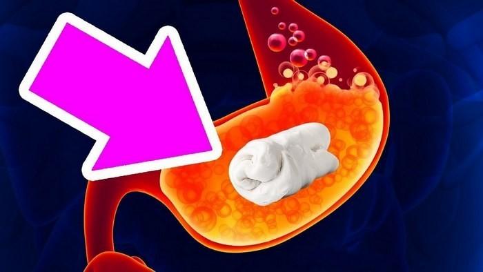 Что произойдёт, если проглотить жевательную резинку? (5 фото)
