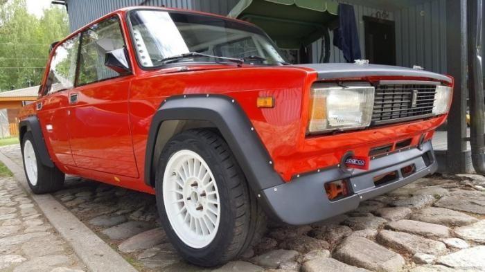 """В Эстонии продают редкую гоночную """"пятерку"""" Lada VFTS (8 фото)"""