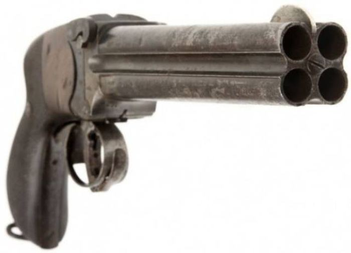 Необычное огнестрельное оружие (49 фото)