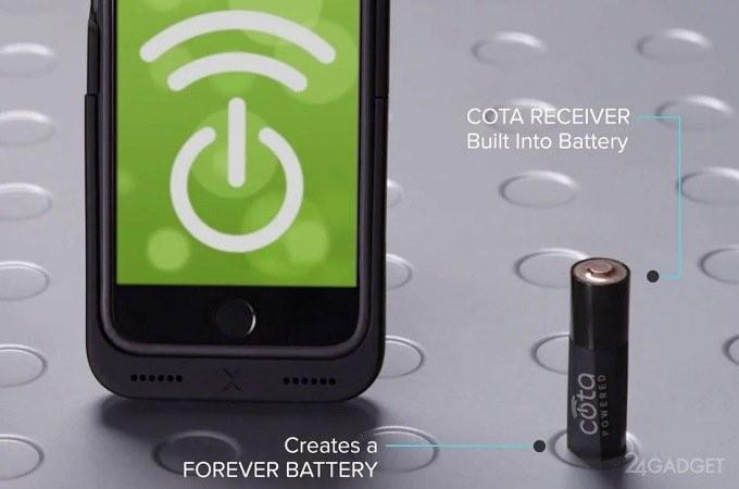 Анонсированы первые в мире батарейки АА с беспроводной зарядкой (3 фото + видео)
