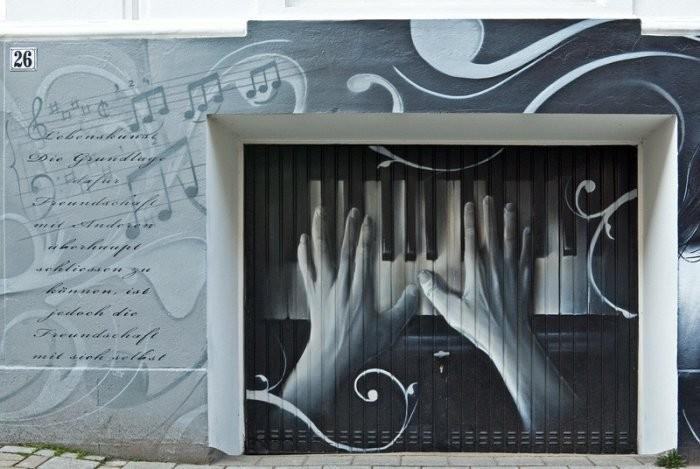 Новый взгляд на гаражные ворота (30 фото)