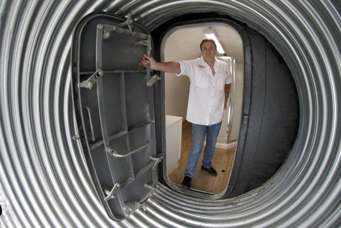 Личные бункеры состоятельных граждан США (19 фото)