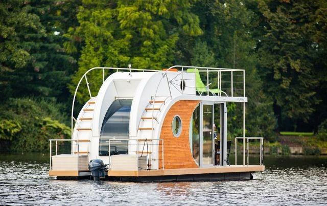Плавучий дом Nautilus Mini (12 фото)