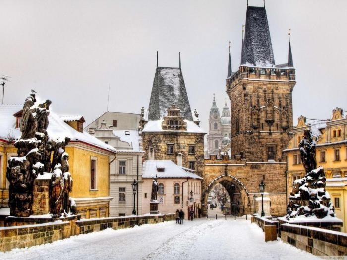 Веские причины поехать в Прагу зимой (10 фото)