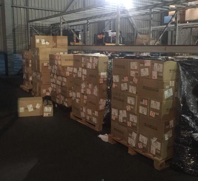 Майнинг-фермы весом в 950 кг попытались ввезти в Украину (5 фото)
