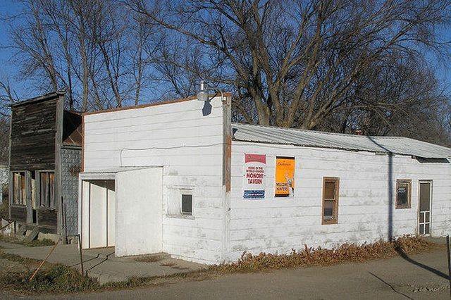 Единственная жительница самого маленького города США Монови (6 фото)