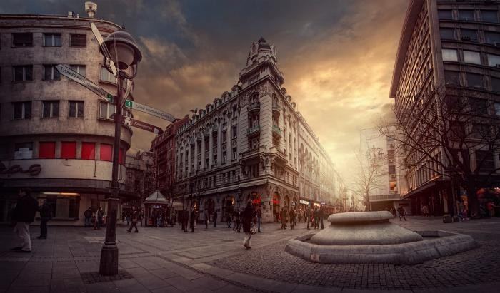 Величественный Белград на снимках сербского фотографа (15 фото)
