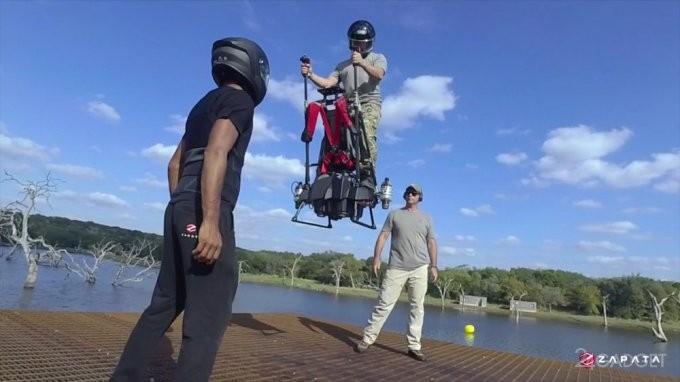 Летающий сигвей Ezfly от Фрэнки Запата (6 фото + видео)