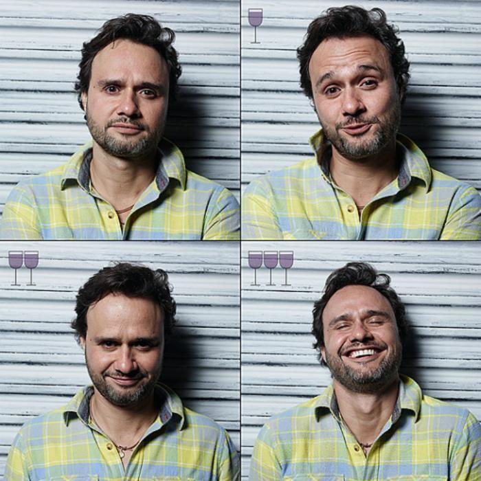 Все оттенки пьяного: лицо до и после пары бокалов (16 фото)