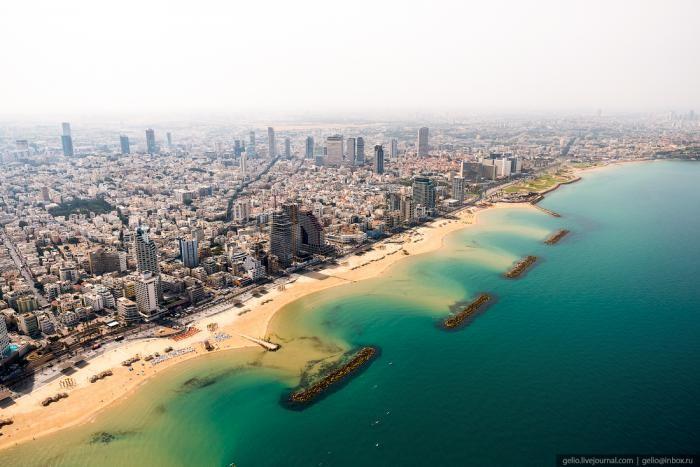 Красота Израиля с высоты птичьего полёта (67 фото)
