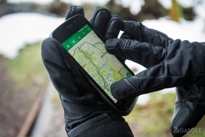 Land Rover выпустит защищённый модульный смартфон (8 фото)