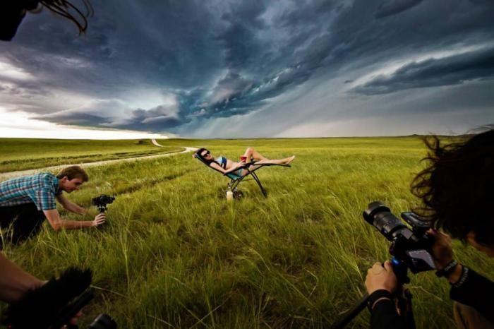 Фотопроект — охотники за штормом (11 фото)