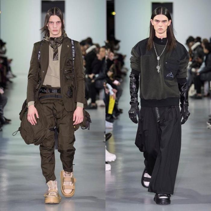 Творение китайского модного бренда уделало даже носки с сандалиями и шлепанцами (6 фото)